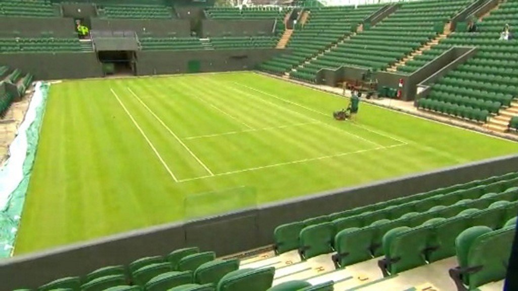 Wimbledon cutting back on plastic at this year's tournament