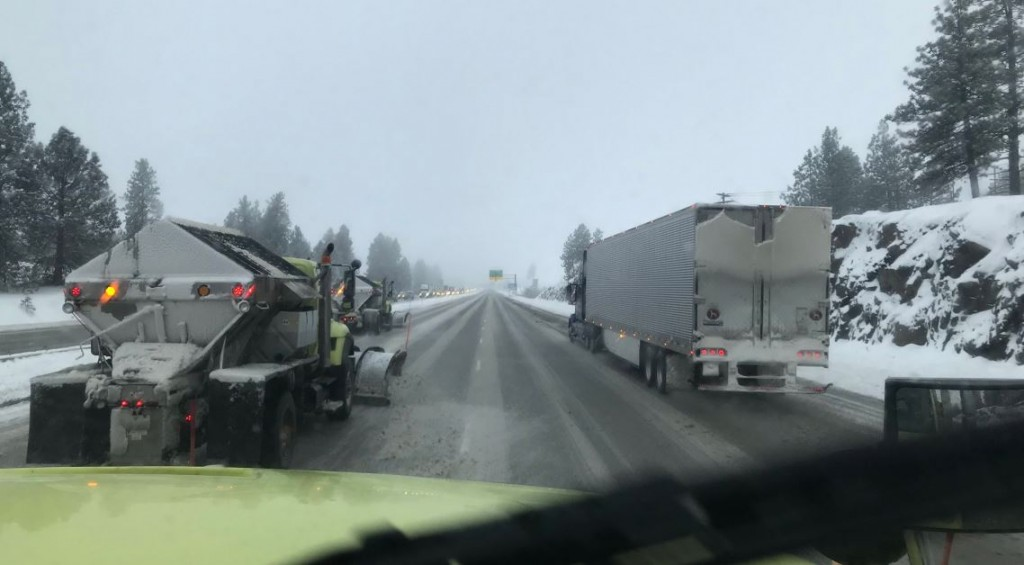 What NOT to do when you see snow plows on the roads