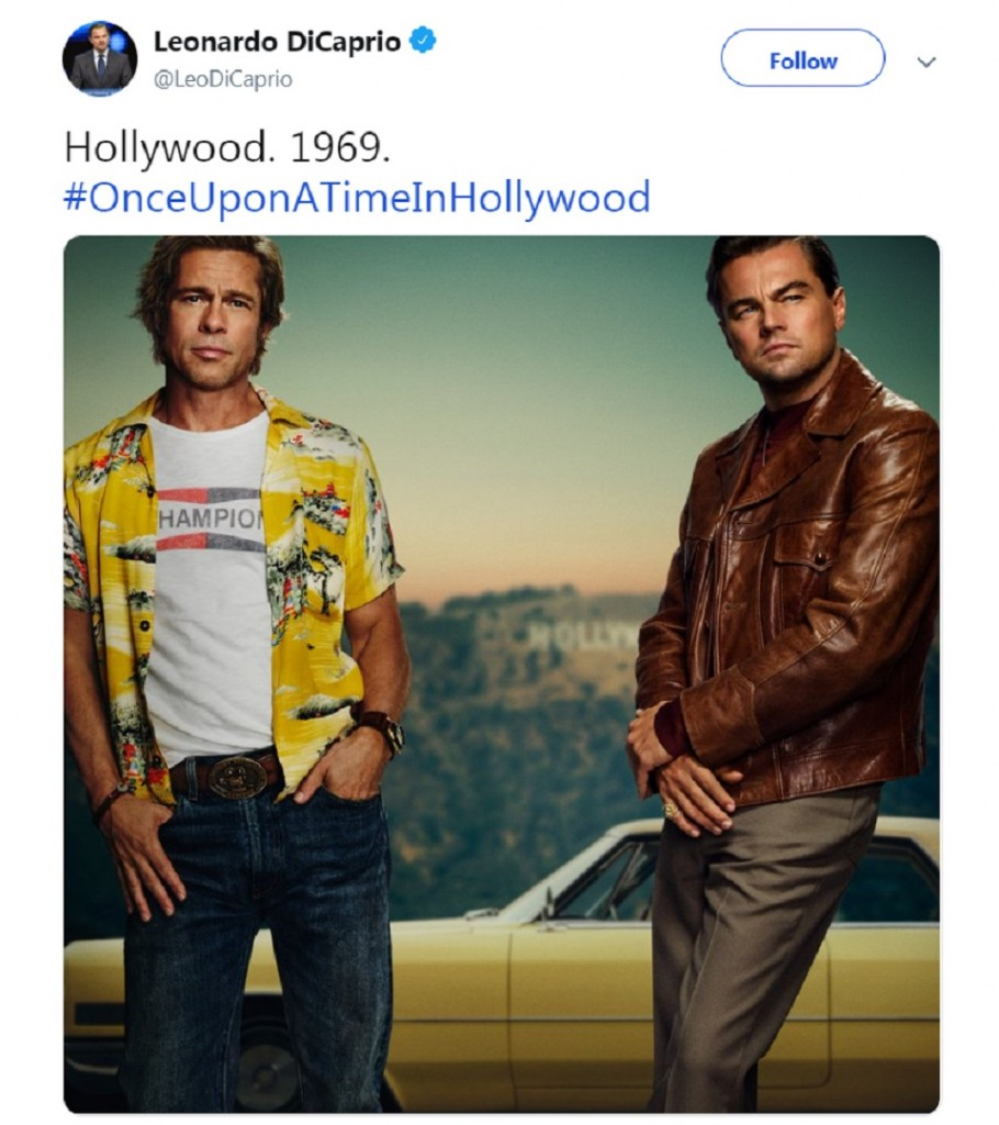 About that Leonard DiCaprio and Brad Pitt movie poster