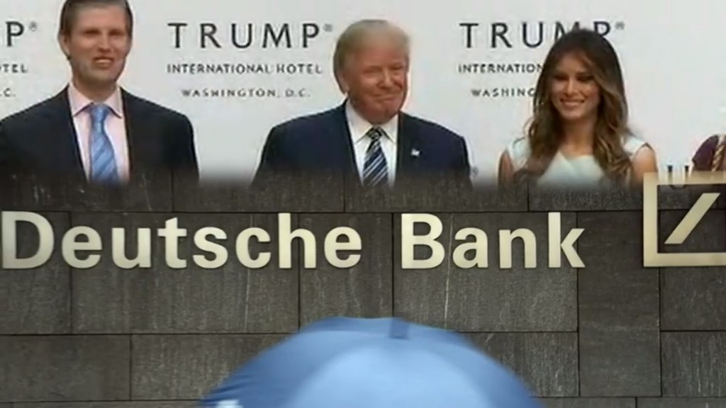 Deutsche Bank tells court it does not hold Trump's tax returns