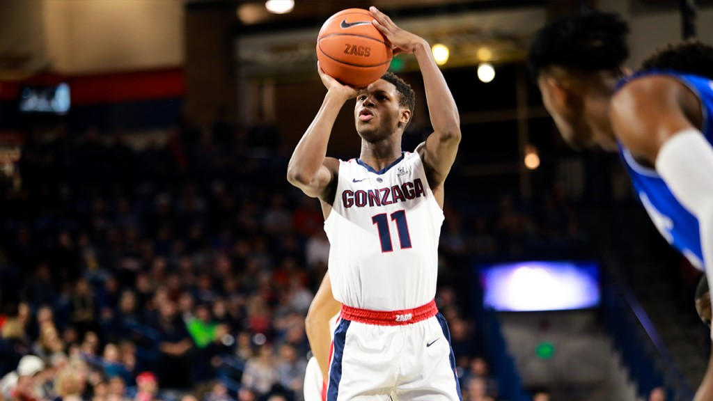 Gonzaga takes on University of Texas Arlington