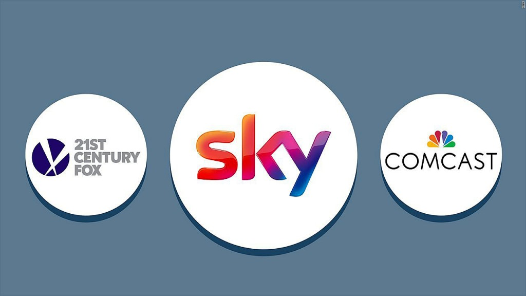 Comcast won a dramatic auction for Sky. But its investors aren't happy