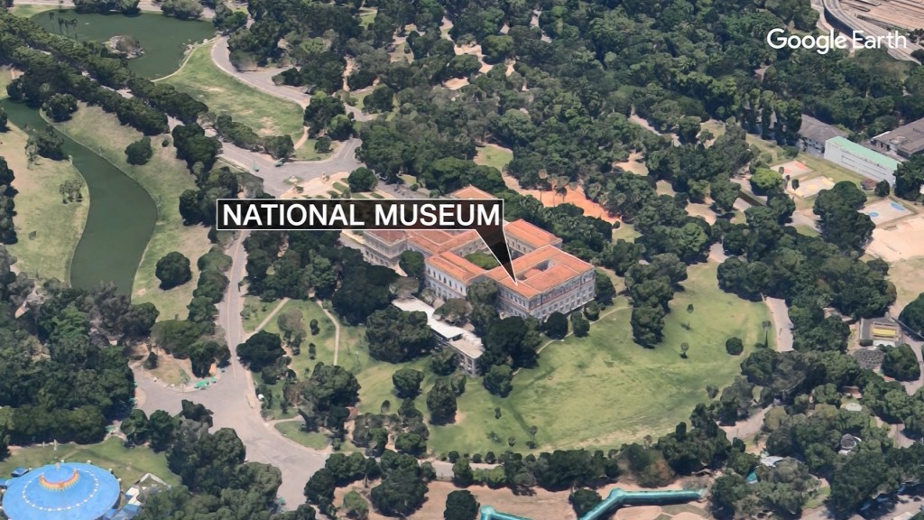 Brazil's National Museum burns weeks before fire system improvements