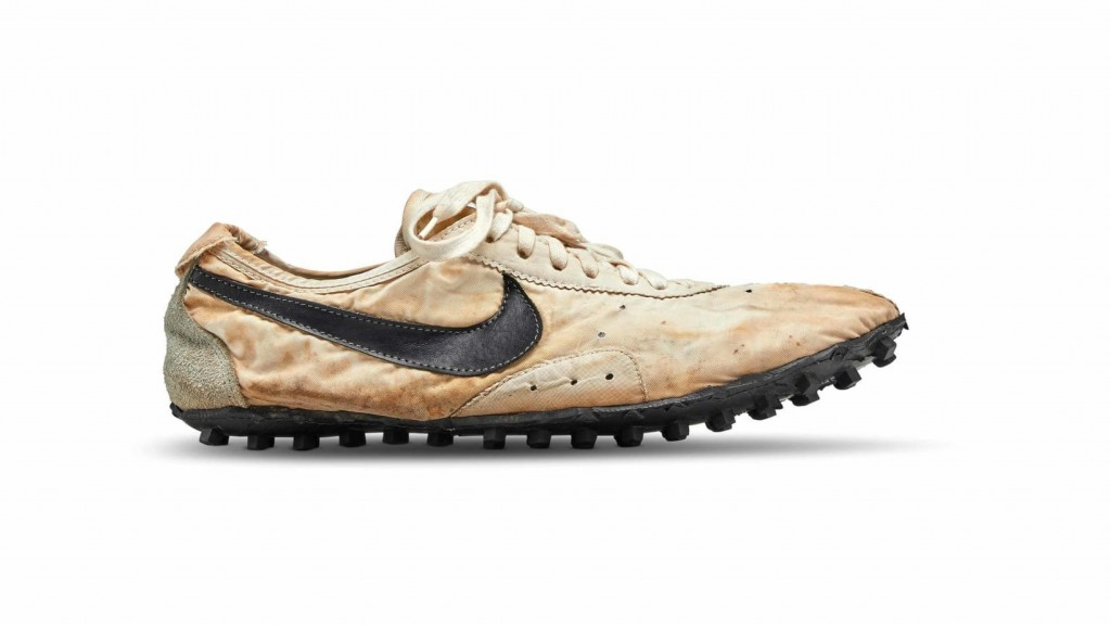 Nike's rare 'Moon Shoe' sold for $437,500
