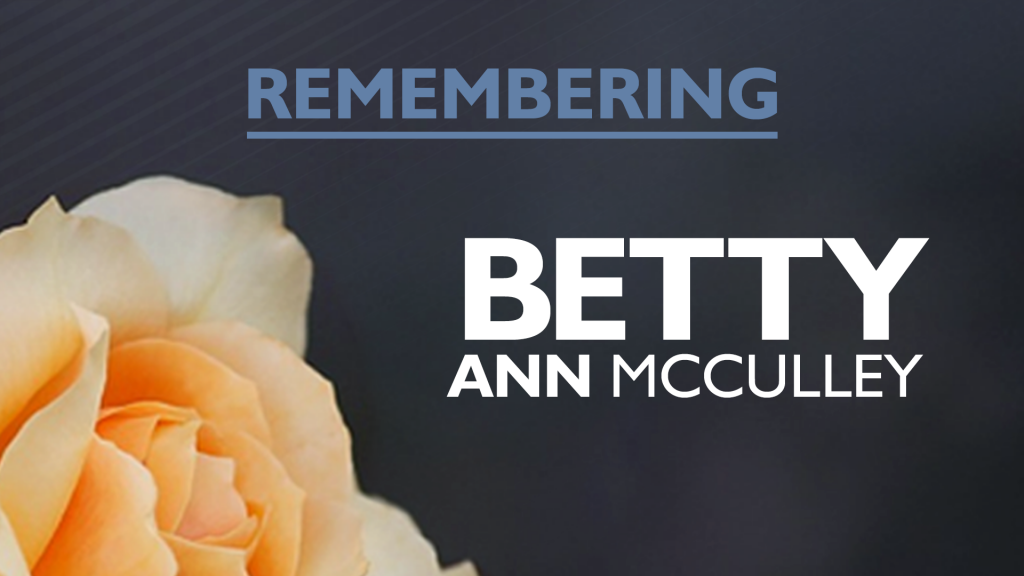 Betty Ann Mcculley