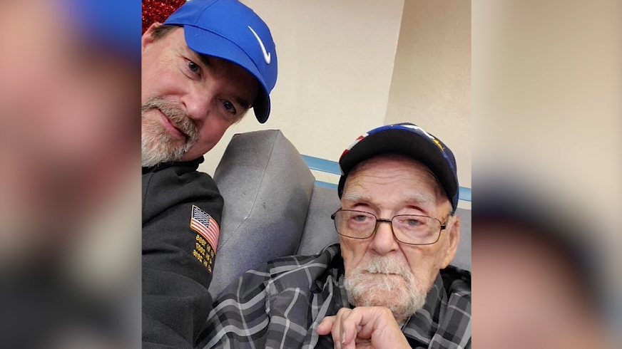 Darrin Truitt worries for his father Leroy, a 94-year-old WWII veteran trapped in the Spokane Veterans Home, where 12 people have tested positive for COVID-19.