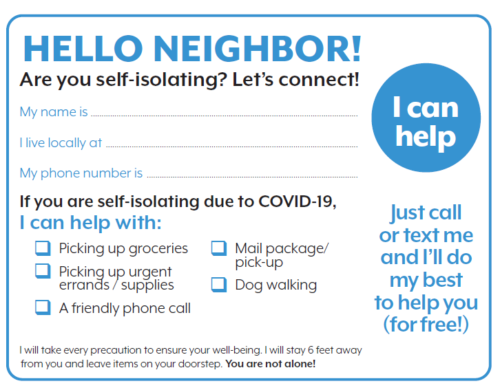 hello neighbor card