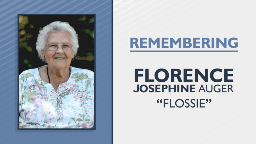 Florence Flossie Josephine Auger