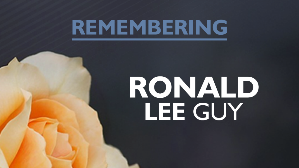 Ronald Lee Guy