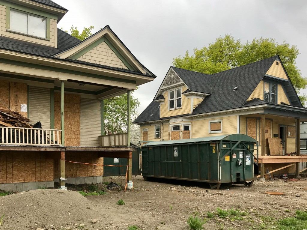 West Central Habitat For Humanity Homes Being Fixed Up