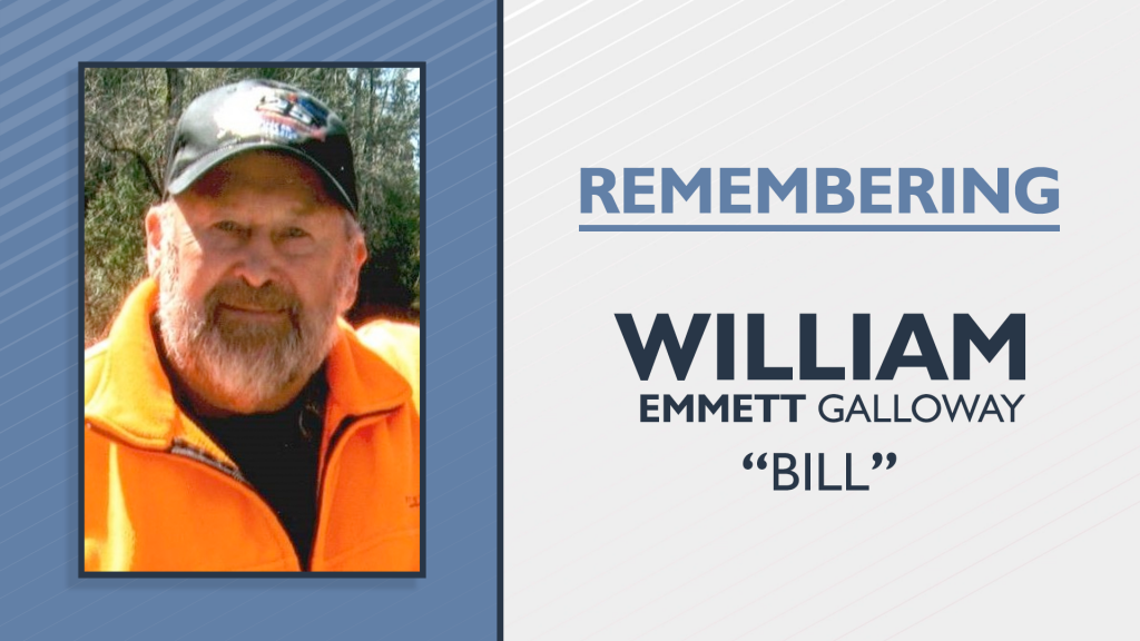 William Bill Emmett Galloway