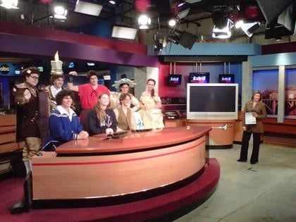 Cast of Beauty and the Beast Visit KXLY's Studio