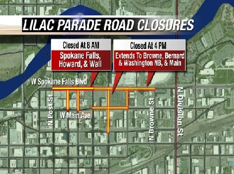 Road closures for Armed Forces Torchlight Parade