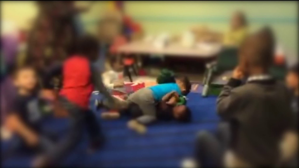 2 day care workers charged after child 'fight club' video surfaces