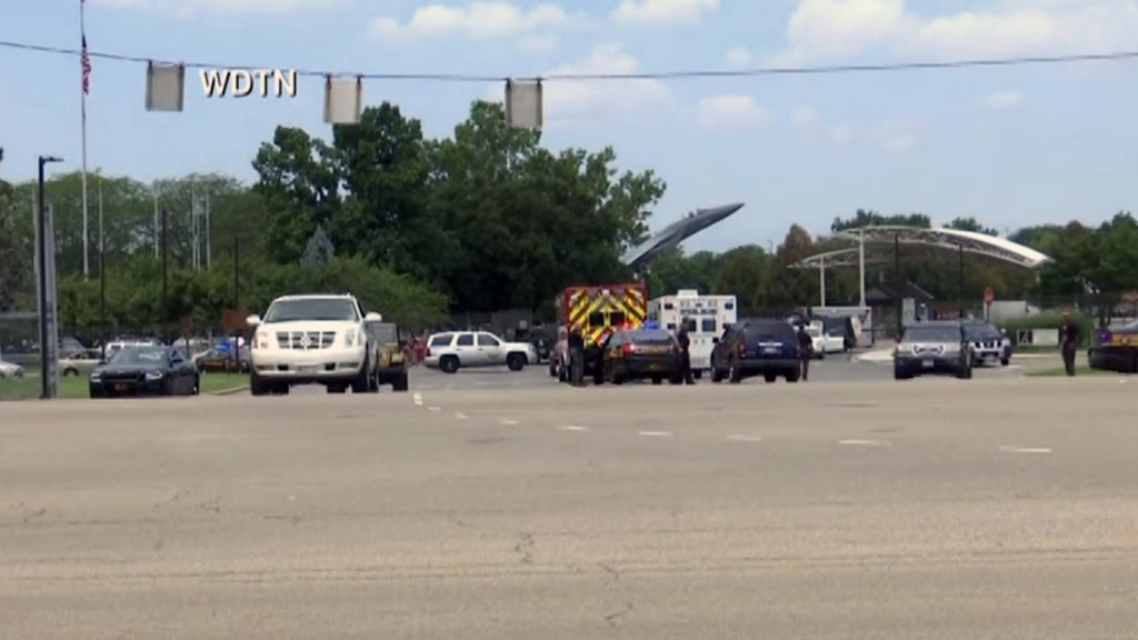 Wright-Patterson Air Force Base says there was no active shooter