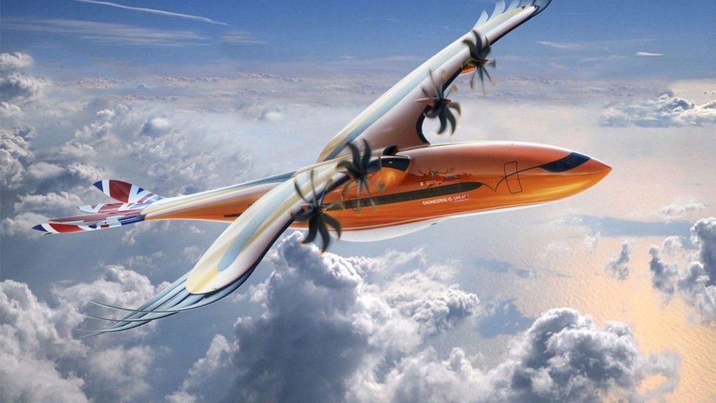 Airbus unveils new 'bird of prey' concept plane