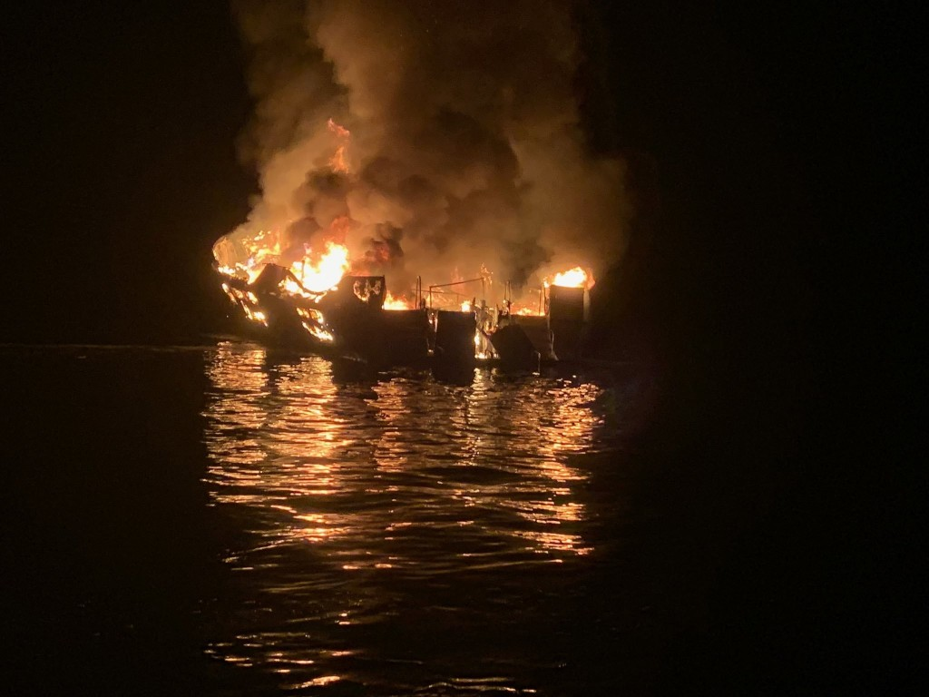 ATF still looking to determine what caused deadly dive boat fire