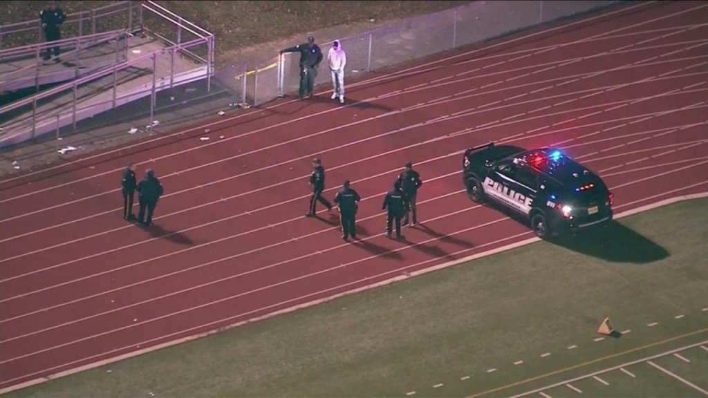 Boy, 10, who was shot at New Jersey high school football game has died