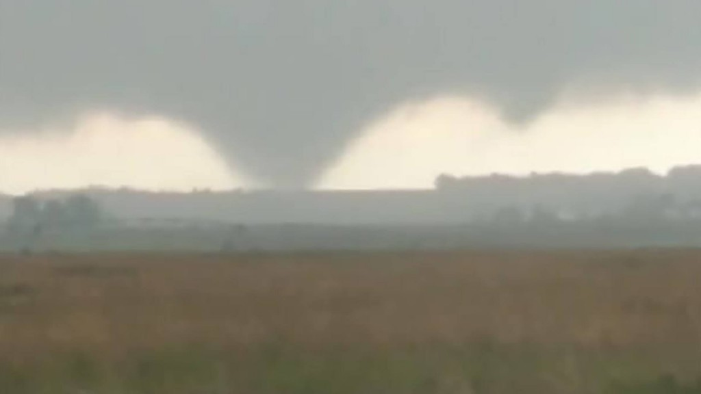 Rare, clockwise-spinning tornado touches down in South Dakota