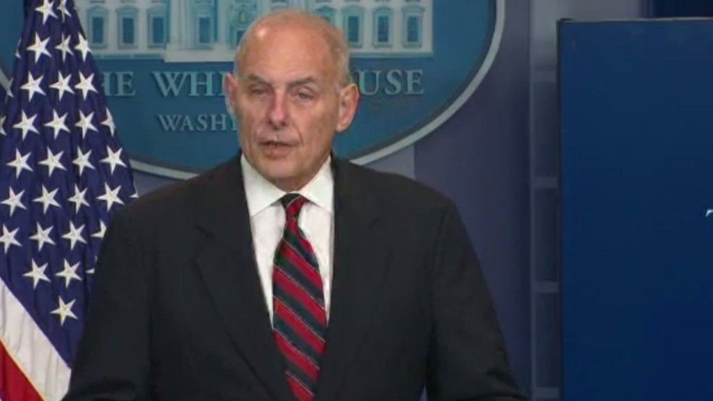 Kelly: WH handling of classified material 'wasn't up to the standards'