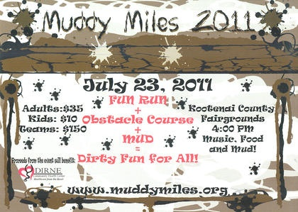 A Muddy Mess For A Good Cause