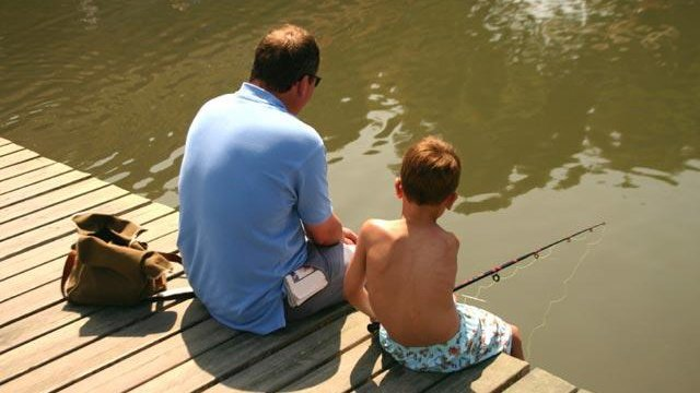 Spend time with dad on Father's Day