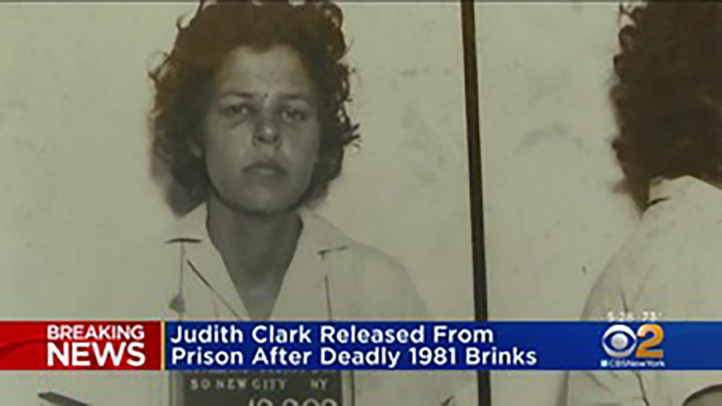 Former activist released nearly 40 years after armored truck robbery