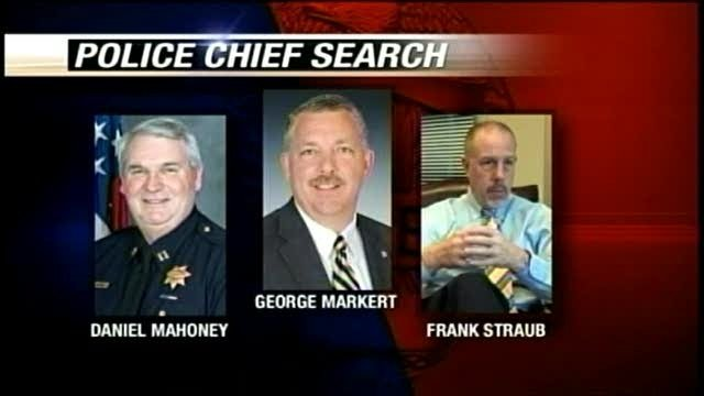 Next police chief will hit the books before hitting the bricks
