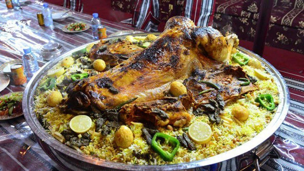 Middle East feasts: Camel's hump and other dishes