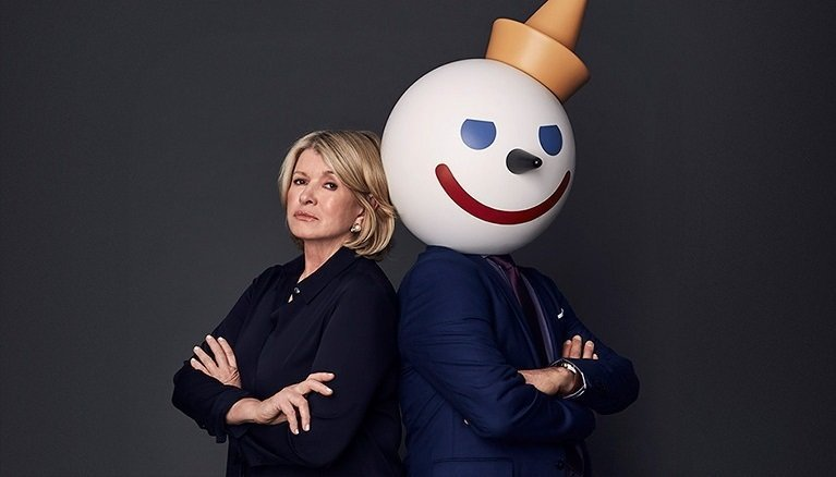 Jack in the Box takes on Martha Stewart in Super Bowl ad