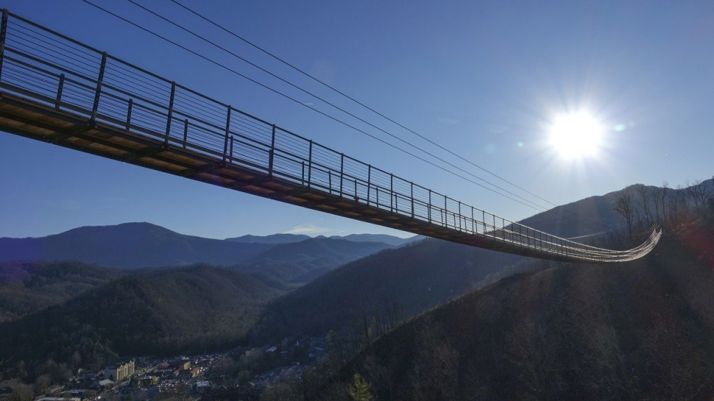Longest pedestrian suspension bridge in US opens soon