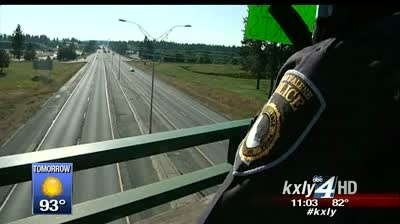 Procession honors fallen Idaho State Trooper