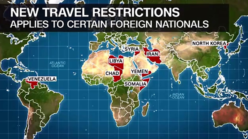 Trump's travel ban: A timeline