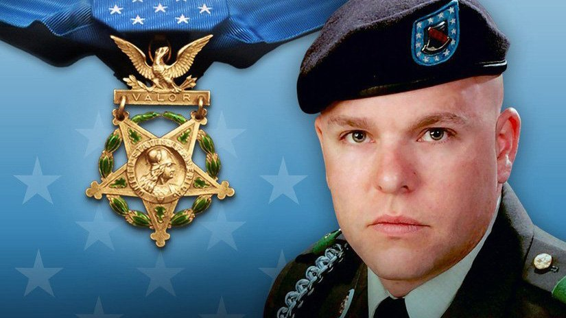 Staff Sgt. Travis Atkins receives Medal of honor posthumously