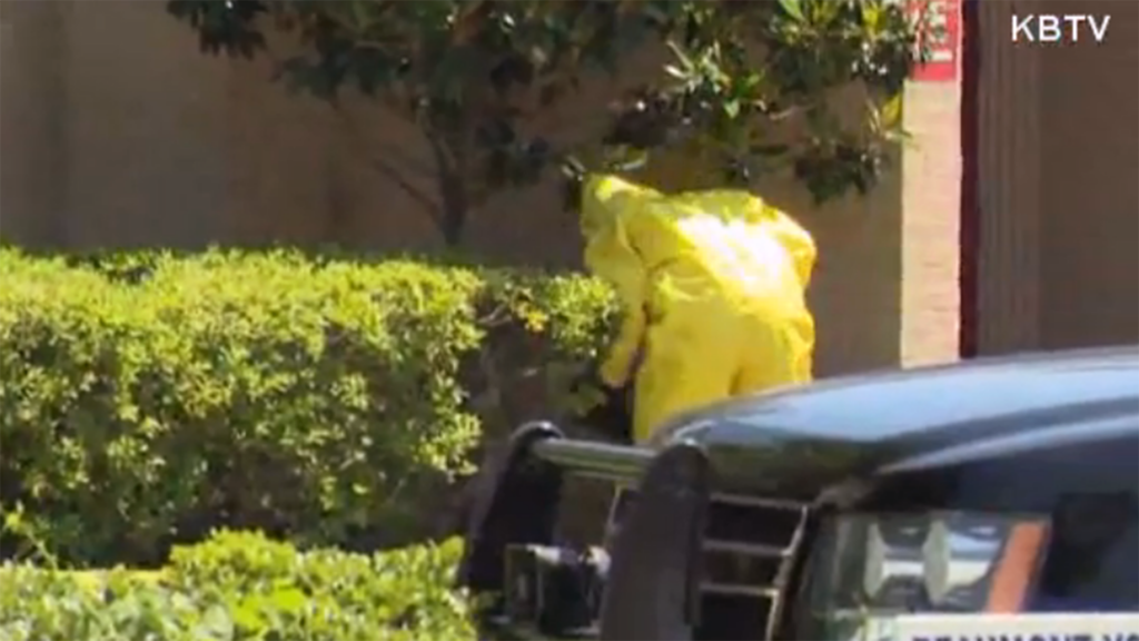 Package detonates outside Texas church weeks after unexploded bomb found in the same city