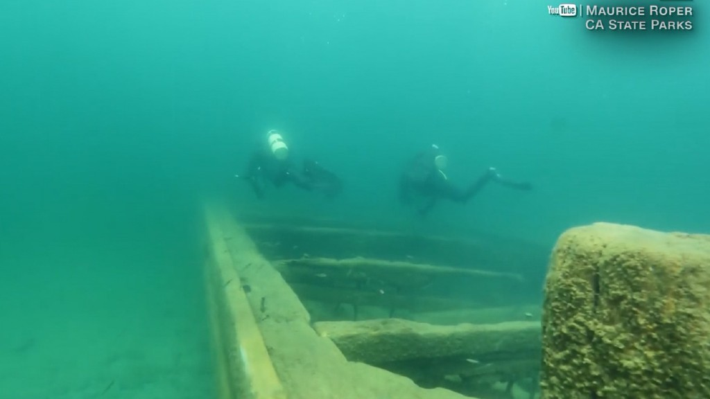 New trail gives underwater peek of Tahoe's past