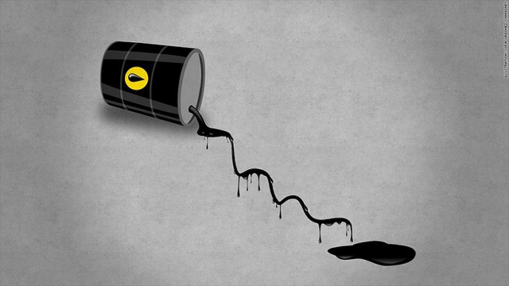 Oil meltdown deepens as crude crashes below $51