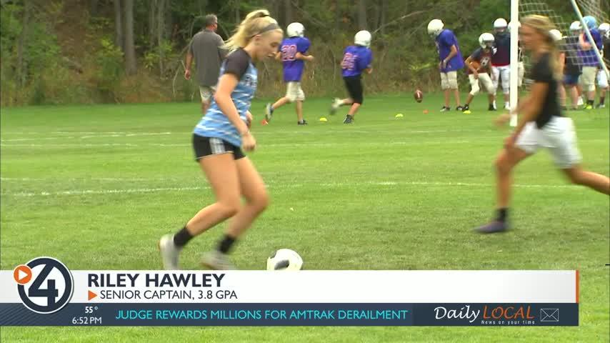 Hawley leading the way for the Scotties