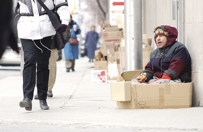 Food, showers, tents: Does the help help the homeless?