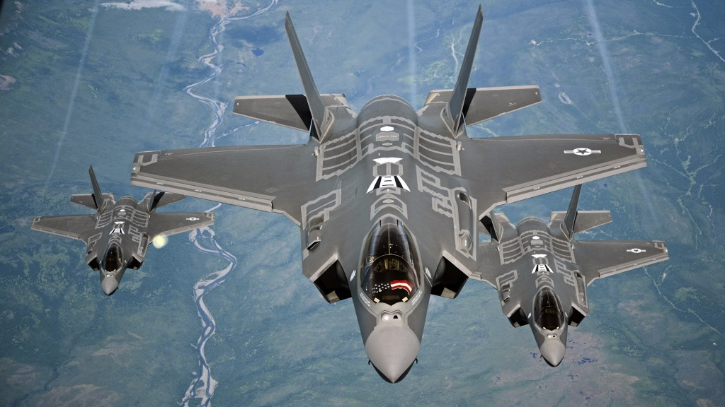 US F-35 fighter jet conducts first-ever airstrike
