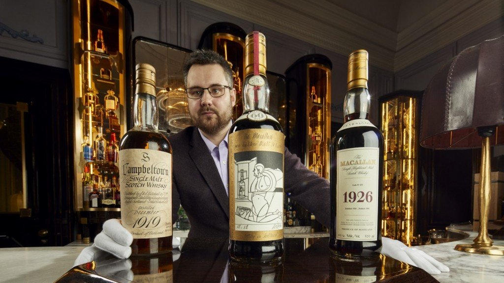 'World's largest' Scotch whisky collection could fetch $10.5M at auction
