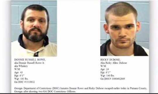 Suspects in Georgia officers' deaths stole 2nd vehicle, police say