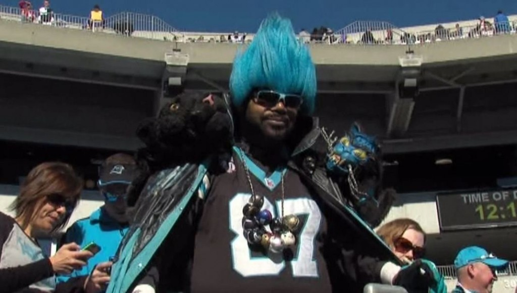 Famous Carolina Panthers fan Greg 'Catman' Good passed away