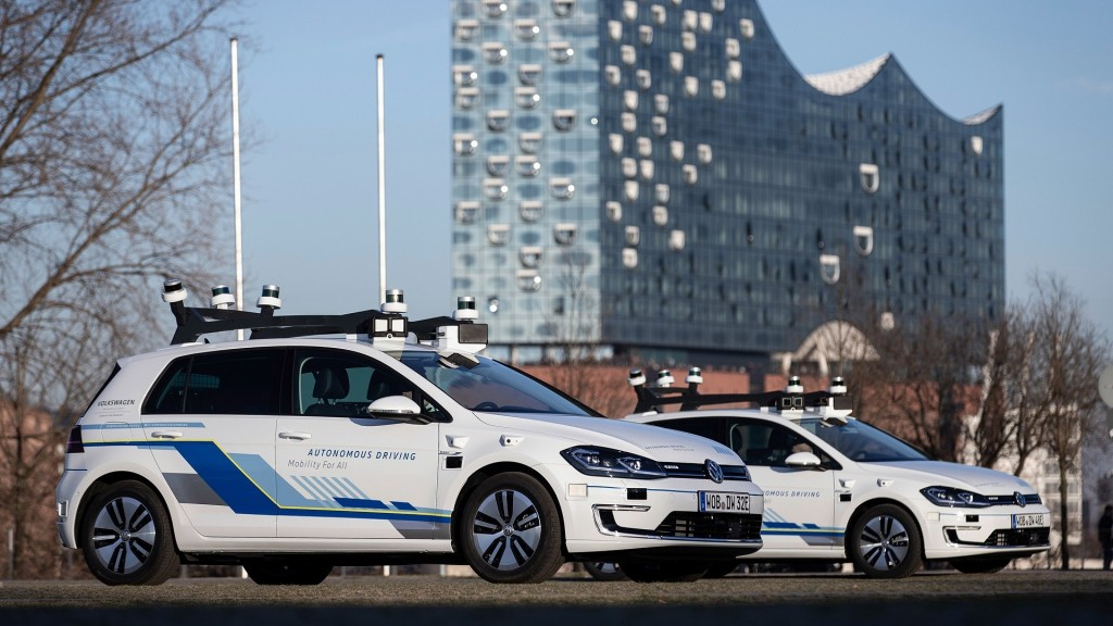 Self-driving cars are now on Hamburg streets