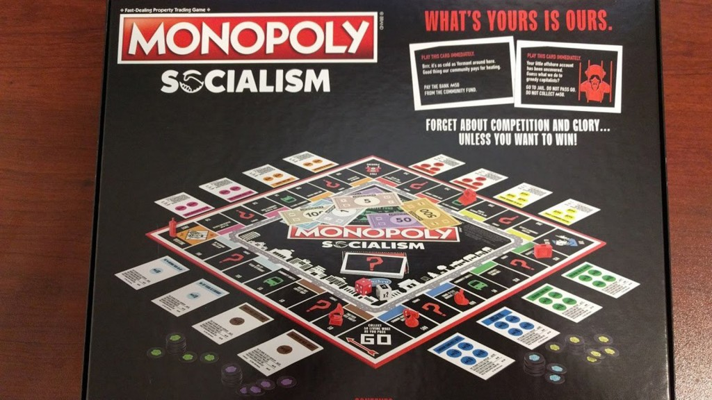 Yes, there's a socialism-themed Monopoly game
