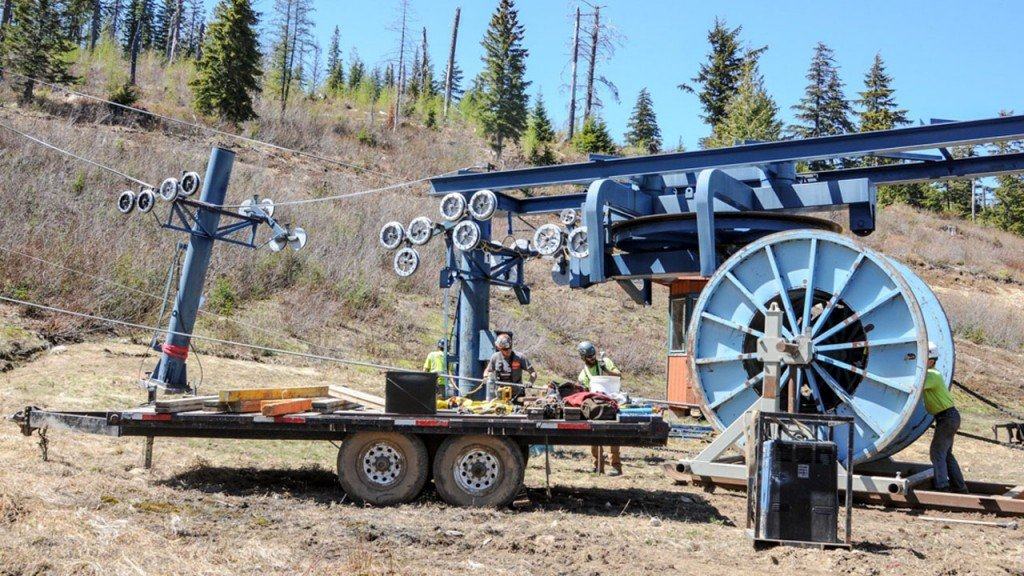 Schweitzer Mountain Resort constructing two new chairlifts