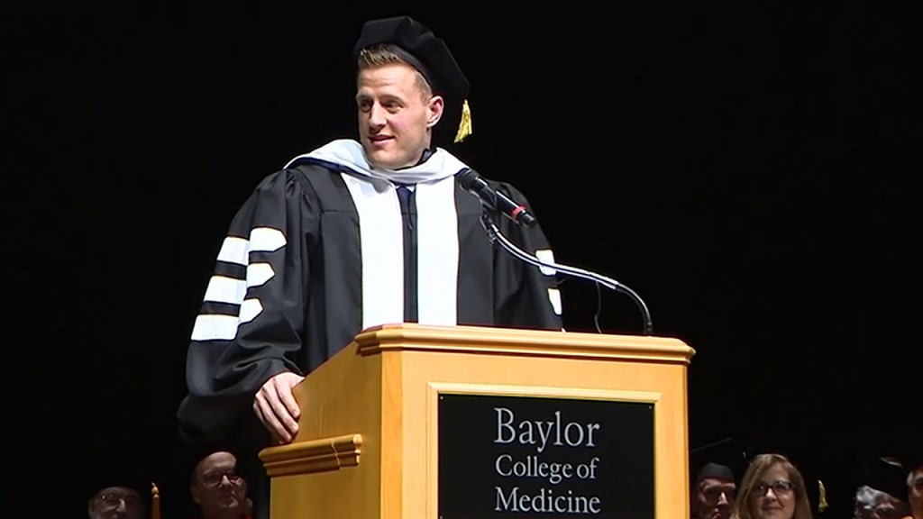 JJ Watt receives honorary doctorate from Baylor