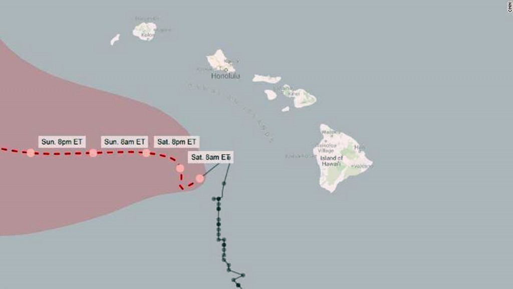 Hawaii 'dodged a bullet,' as Lane weakens to tropical storm