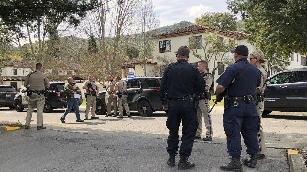 Three women, suspect dead after hostage standoff in Yountville, California