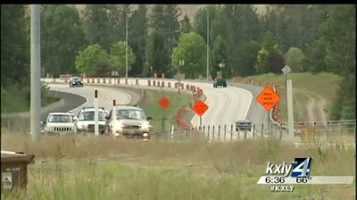 WSDOT opens new Cheney-Spokane Road overpass after deadly crash
